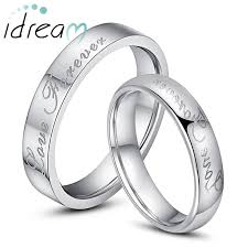cheap his and hers wedding ring sets forever engraved tungsten wedding bands flat domed