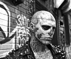 an interview with the extremely tattooed zombie boy scene360