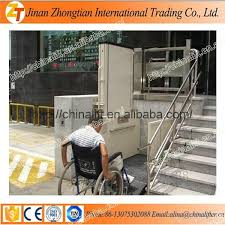 low price stair lift platform wheelchair lift used for disabled