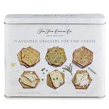 the cheese co crackers for cheese gift tin 450g
