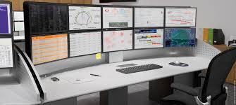 i kube ergonomic multiscreen workstation craie design