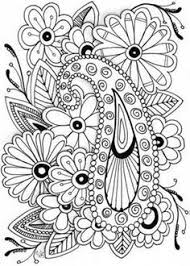 coloring page design flower coloring page 41 u2026 pinteres u2026