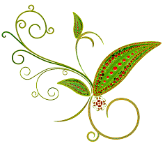 green deco flower ornament png clipart gallery yopriceville