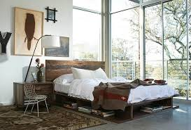 timber headboards u2013 for a touch of rustic in your contemporary