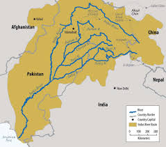 Map Of India And China by Eaglespeak India And Pakistan Water War May Go Nuclear