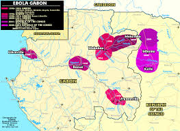 Gabon Map Ebola The Rivers View