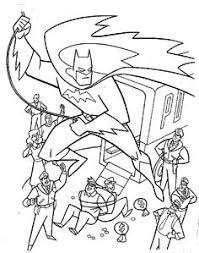Cartoon Coloring Pages Superhero Party Ideas