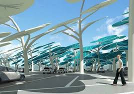 5 stunning solar tree designs to help charge your electric cars