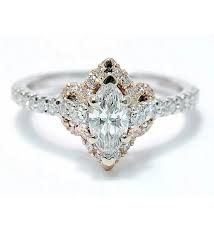 marquise cut diamond ring marquise cut diamond engagement ring henry wilson jewelers