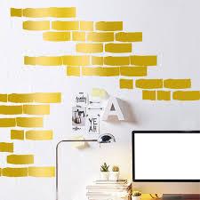 Home Decor Vinyl Wall Art online get cheap wall art bricks aliexpress com alibaba group