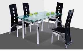 Modern Glass Dining Room Table Dining Room Table Bases For Glass Tops
