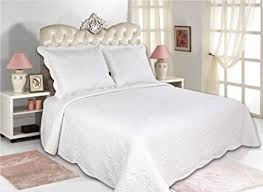 Bedspreads Quilts And Coverlets Amazon Com All For You 3pc Reversible Quilt Set Bedspread And