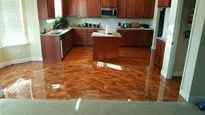 Epoxy Kitchen Floor by Concrete Resurfacing U0026 Epoxy Flooring Lowell Ma