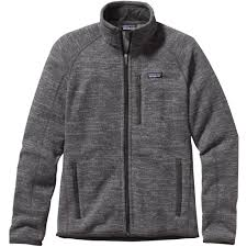 patagonia mens better sweater patagonia s better sweater jacket 25527 nickel forge grey nkfg