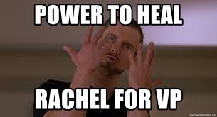 Spirit Fingers Meme - power to heal rachel for vp spirit fingers meme generator