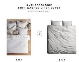 anthropologie soft washed linen duvet copycatchic