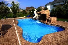 bedroom lovable fiberglass pools and swimming pool the backyard