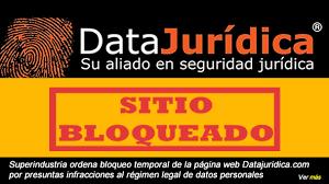 salarios minimos se encuentra desactualizada o con datos erroneos sua superindustria ordena bloqueo temporal de la página web datajuridica