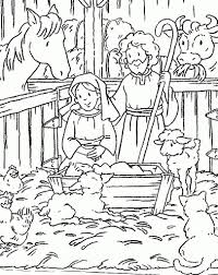 religious christmas coloring pages with regard to encourage in