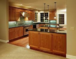 kitchen oak cabinets countertops floor and backsplash remodel
