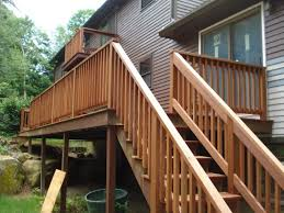 Exterior Stair Railing by 100 Exterior Stair Handrail Newel Post Height Wood Stairs
