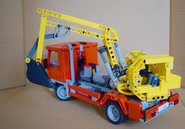 moc small excavator truck lego technic mindstorms u0026 model team