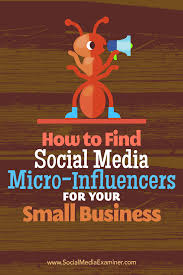 how to find social media micro influencers for your small business