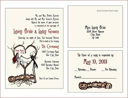 christmas wedding programs invites style 2 vintage fall autumn spooky burton