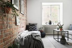 brick wall apartment tiny studio apartment with an exposed brick wall floorplan