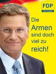 """Hartz IV, """"Florida-Rolf"""" und die """"spätrömische Dekadenz"""" der FDP"""