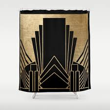 Art Deco Design 1920s Shower Curtains Society6