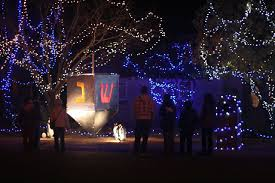 dreidel lights chanukah on christmas avenue raising a family in