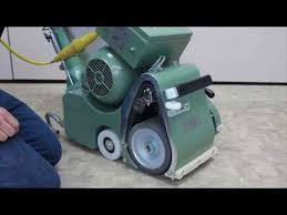 lagler 8 hummel floor sanding machine