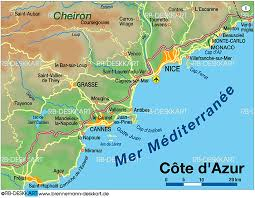 map of antibes map of cote d azur map in the atlas of the world