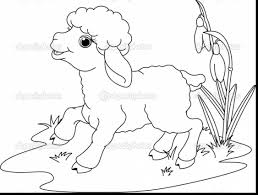 excellent jesus lamb of god coloring page with sheep coloring page