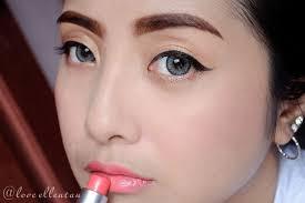 review tutorial makeup sehari hari makeup simple untuk pemula loveellentan