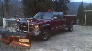 buy used 1995 chevy 2500 diesel work truck tool box bed lift