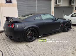 Nissan Gtr Matte Black - adv15 mv2s on a nissan gtr too for words teamspeed com
