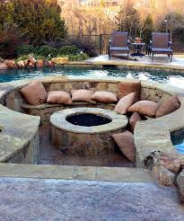 omg this pool fire pit outdoor livin pinterest backyard