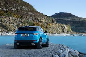 blue range rover range rover evoque landmark edition gets special shade of blue