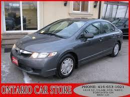 honda used cars toronto 2009 honda civic dx g for sale in toronto toronto 6995 used