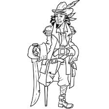 wonderful pirate clip art coloring pages kids