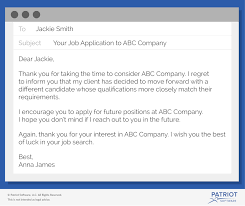 how to write a job rejection email sample u0026 more