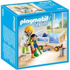 chambre playmobil playmobil city chambre d enfant avec médecin 6661 pas