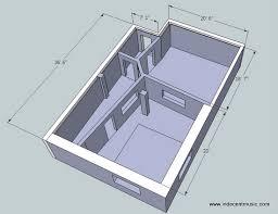 Recording Studio Floor Plans Studio Diy Recording Studio Diy Control Room