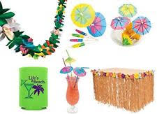 Tropical Themed Party Decorations - tropical luau party decorations grass table skirt 144 paper