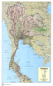 Map Of The World To Scale by Maps Of Thailand Detailed Map Of Thailand In English Tourist