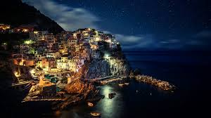 Beautiful Places On Earth by Beautiful Places On Earth Manarola Night Wallpaper