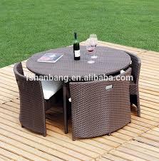 outdoor wicker patio rattan cube garden 11 piece dining set buy