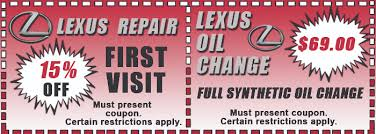 lexus coupons for change lexus service in san diego your dealership alternative